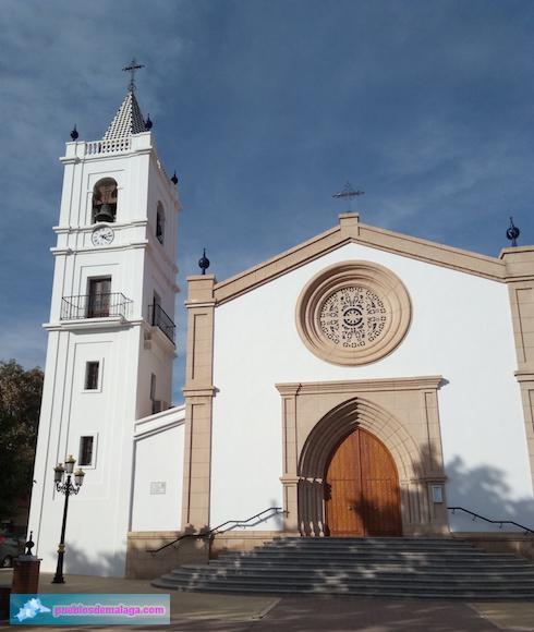 Iglesia de Nuestra Señora del Rosario en La Cala del Moral