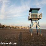 Puesto de vigilante de la Playa en La Cala del Moral