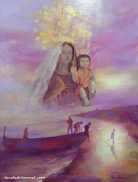 Cartel del Día de la Virgen del Carmen 2019