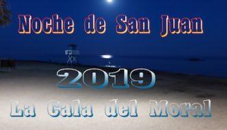Noche de San Juan en La Cala del Moral