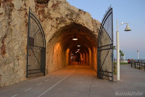 Túnel de La Cala del Moral